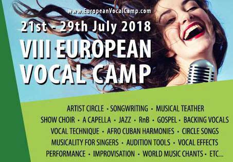 European Vocal Camp 2018