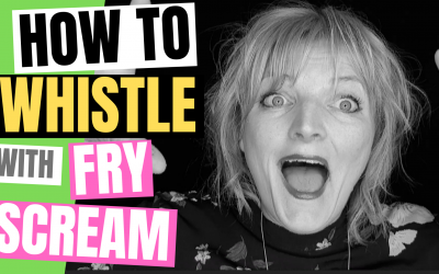 Whistle Notes Tutorial – Find Whistle using Vocal Fry or Creak